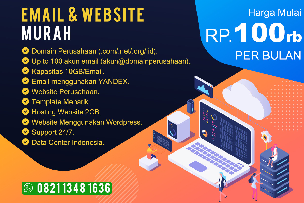 Email & Website Murah